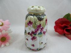 Antique Hand Painted Nippon Porcelain Sugar Shaker