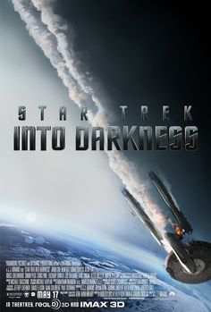Darkness is coming. See Star Trek: Into Darkness on May 17th!