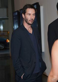 "Actor Keanu Reeves attends the ""Side By Side"" New York Premiere at MOMA on August 9, 2012 in New York City"