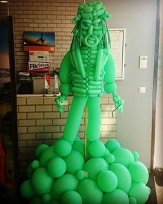 Balloon Sculpute. Ghost. Statue. Sculptuur. Ballonsculptuur. Art. Jheronimus Bosch. Spook. Geest.