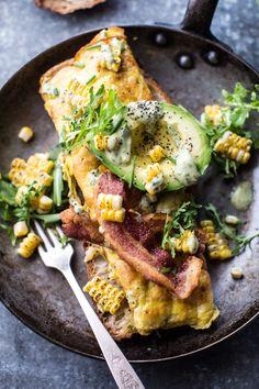 Simple California Style Omelet by halfbakedharvest #Omelet
