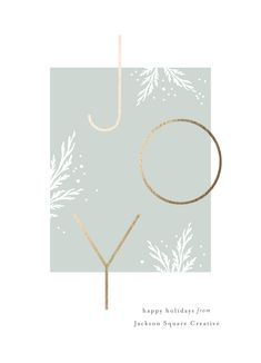"""""""Ultra Modern"""" foil-pressed non-photo business holiday card design by Minted. - """"Ultra Modern"""" foil-pressed non-photo business holiday card design by Minted artist Carolyn Mac - Christmas Graphics, Diy Christmas Cards, Xmas Cards, Christmas Photos, Birthday Card Design, Birthday Cards, Christmas Brochure, Christmas Graphic Design, Business Holiday Cards"""