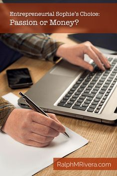 Female programmer writing notes on piece of paper while typing laptop keyboard, side view. Online Writing Jobs, Online Jobs, Business Entrepreneur, Business Tips, Sophie's Choice, Write Online, Article Writing, Start Writing, Day Work