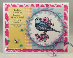 Bird with a French Fry, Unity Stamp Company, Timeless Twine