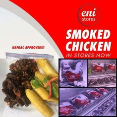 It's weekend again....what are your weekend cooking plans? Eni smoked chicken remains the best alternative for your healthy and tasty meal...make a purchase today.  Happy weekend!!!
