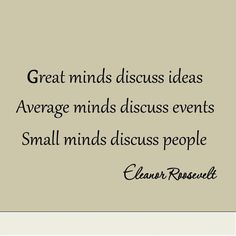Great Minds Discuss Ideas Average Minds Discuss by miceandmugs, $10.99