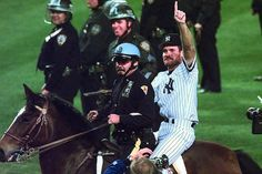 Wade Boggs post World Series win