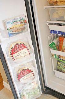 Refrigerator & Freezer Organization on Pinterest ...