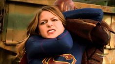 awesome Supergirl vs Red Tornado (Final Fight)