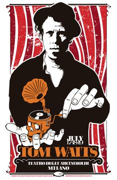 GigPosters.com - Tom Waits