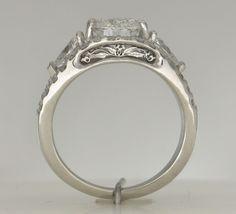 Handmade Platinum Engagement Rings