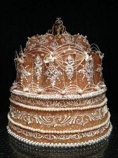 Amazing Wedding Cakes, Beautiful Cakes, Food Art, Christmas Ornaments, Baking, Holiday Decor, Cake Ideas, Desserts, Tailgate Desserts