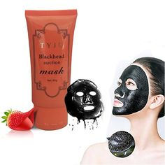 Skin Care Deep Cleansing Blackhead Remover Strawberry Nose Facial Tearing Resist Oily Purifying Acne Mask New Arrival #Affiliate