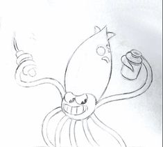 Here's some squid action from Cuphead's Pirate boss fight!Please follow if you'd like more Cuphead in your life!
