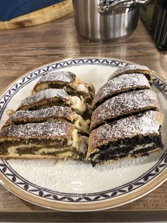 Makovníky a orechovníky My Dessert, Dessert Recipes, Strudel, Sweet Desserts, French Toast, Cheesecake, Pie, Bread, Baking