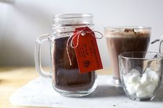 hot chocolate mix from Smitten Kitchen