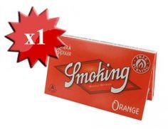 Papier à rouler Smoking Orange Regular x 1