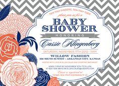 Baby Shower Invitation #babyshower #invitation