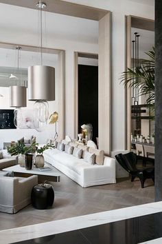 Fast, Easy, Cheap: Living Room Remodeling Ideas - Room Design Made Easy Living Room Interior, Living Room Furniture, Living Room Decor, Dining Room, Lobby Interior, Interior Paint, Luxury Interior, Modern Interior, Interior Decorating