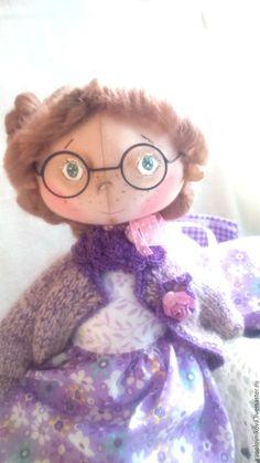 Купить Кукла - Сонечка. - фиолетовый, сиреневый, лиловый, белый, персиковый…