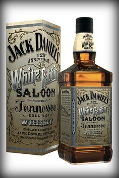 Jack Daniel's 120th. Anniversary white rabbit saloon