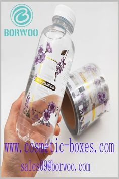 Plastic labels come with CMY printing and bronzing printing. Sticking a label on the shampoo bottle is one of the best ways to create a shampoo brand. Cosmetic Labels, Cosmetic Box, Drink Bottles, Good Things, Cosmetics, Drinks, Shampoo, Printing, Plastic