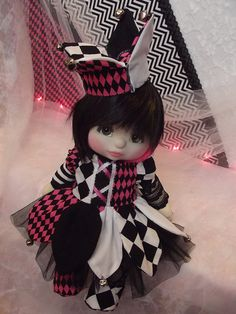OOAK Mattel My Child Doll ~ Court Jester by jesska80, via Flickr