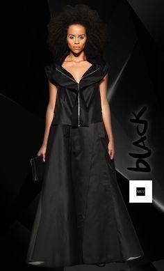 El negro es tan objetivo y funcional que demuestra la personalidad sin necesidad de complementos.