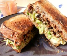 Vegan Reuben Sandwich - yum! Use vegan cheese