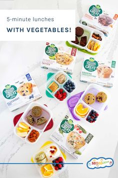 Healthy lunches with vegetables kids will want to eat packed in just 5 minutes thanks to @VeggiesMadeGreat #sponsored Banana Chocolate Chip Muffins, Melting Chocolate Chips, Eat Lunch, Lunch Box, Box Lunches, Healthy Recipes, Real Food Recipes, Healthy Meals, Veggie Cakes