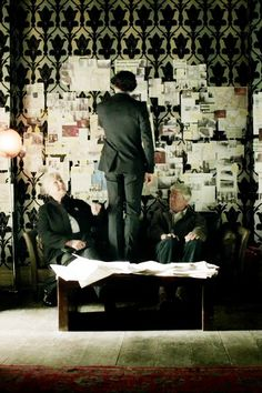 #Sherlock and his parents - #Sherlock series 3 episode 1: The Empty Hearse