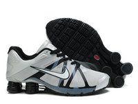 new arrival 63572 bc72c chaussures nike shox roadster homme (argent noir) pas cher en ligne.