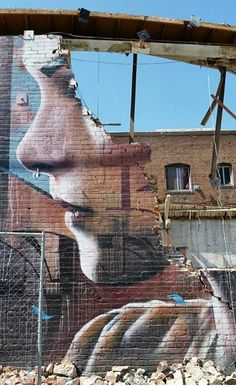 Christina Angelina street art