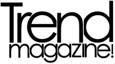 This magazine logo looks exciting and utilizes the title format.