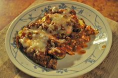 Low-Fat Low-Carb Healthy Lasagna Recipe- Would like to try this!