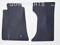 2006-2012 Mazda Miata Floor Mats All Weather 2 Piece Set Charcoal Black OEM NEW #Mazda