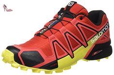 competitive price 41404 36b6f Salomon Homme Speedcross 4 Chaussures de Course à Pied et Trail Running   Salomon  Amazon.fr  Sports et Loisirs