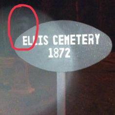 """""""My friends took these at a cemetery in Massachusetts. They all agreed to snap pics and not look at any of them until after they left the cemetery. This was the result."""" —jtc48"""