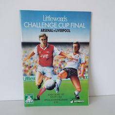 Vintage Arsenal Versus Liverpool Challenge Cup Final Football Soccer Programme 1987 by VintageBlackCatz on Etsy