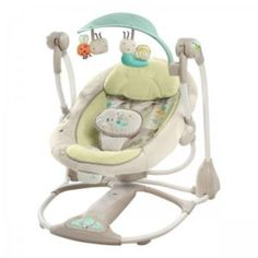 Bright Starts Ingenuity 60198 Baby Bouncer Bouncing Chair Swing Seat for sale Swinging Chair, Rocking Chair, Portable Baby Swing, Brighton, Convertible, Baby Registry Items, Baby Bouncer, Baby Swings, Infant Activities