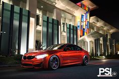 Sakhir Inferno Red BMW M4 modified by Precision Sport Industries - http://www.modifiedcars.com/cars/536449/sakhir-inferno-red-bmw-m4-modified-by-precision-sport-industries