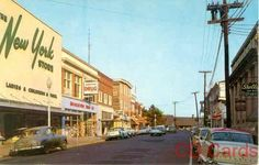 Broad Street in Quakertown Pennsylvania 1962