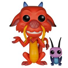 Figurine Mushu et Cricket (Mulan) - Figurine Funko Pop http://figurinepop.com/mushu-cricket-mulan-funko