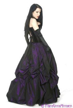 purple black goth, Goth, gothic, dark