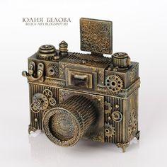 Squirrel Ju (Julia Belova) Belova-art studio: Photobox. steampunk camera.