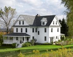 A gorgeous country home that's been restored to its former glory, in upstate New York.  Sourced from this site: http://www.countryliving.com/homes/renovation-and-remodeling/old-home-renovation-before-and-after-0910?click=main_sr#slide-2