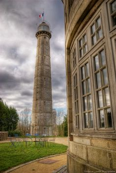 Tour de la Découverte (Tower of Discovery) is a signal tower located in Lorient, France.
