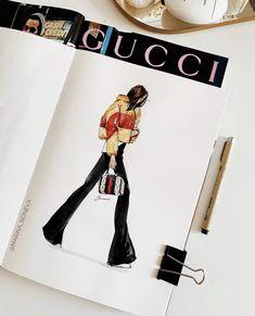 Dress Design Sketches, Fashion Design Sketchbook, Fashion Design Portfolio, Fashion Design Drawings, Fashion Sketches, Art Sketchbook, Student Fashion, College Fashion, School Fashion