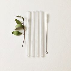 Reusable Wedding Birthday Party Clear Glass Drinking Straws Thick Straws  SN