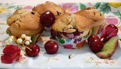 Muffin con le ciliegie senza burro - Mind Cucina e Gusto